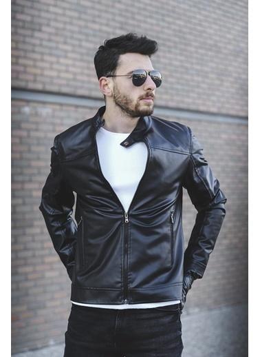 Oksit Ceket Siyah